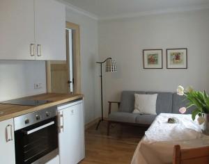 Kitchenette at Apartment in Reykjavik