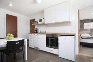 Kitchenette at ground floor apartment